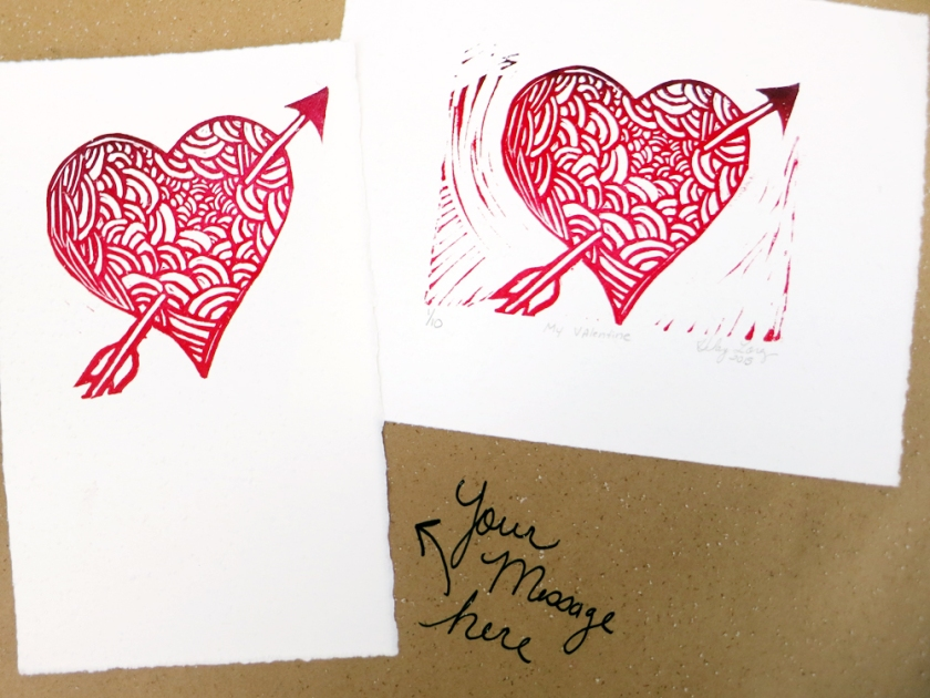 BeMine Print along side Write in Valentine Print