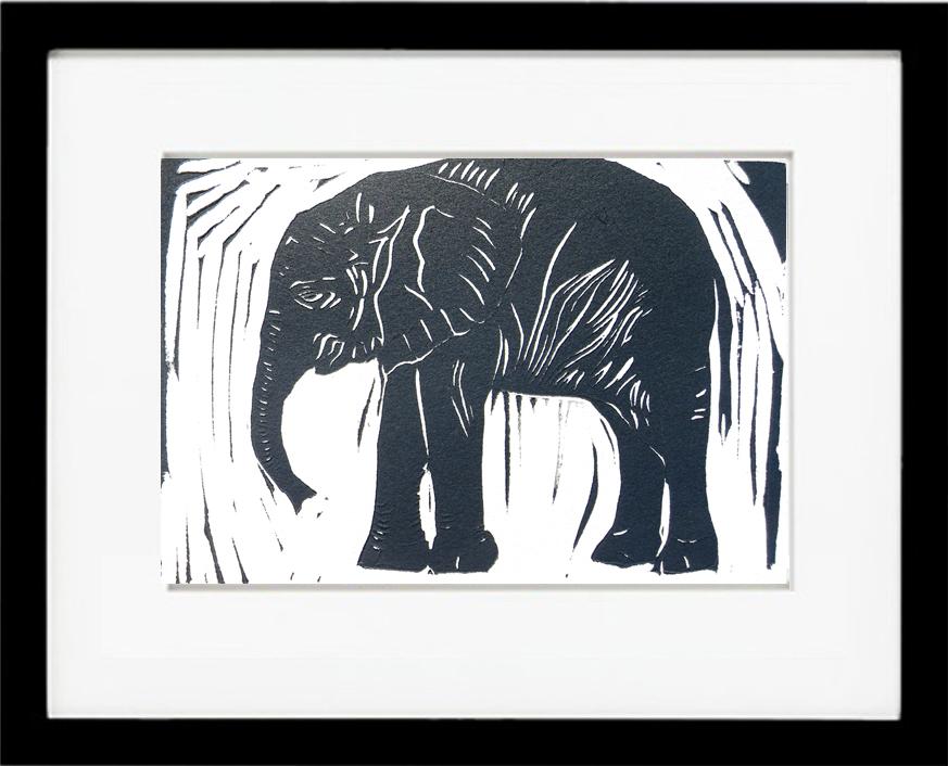 The Royal Elephant, print #26 of 30. – Hilary Lorenz