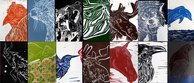 30 prints in 30 days