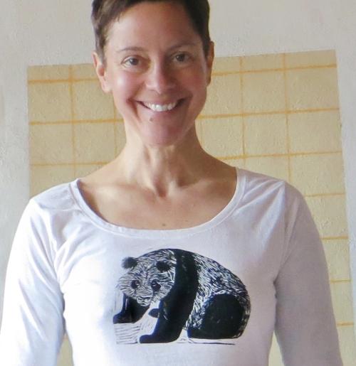 Linocut Printed T-shirt