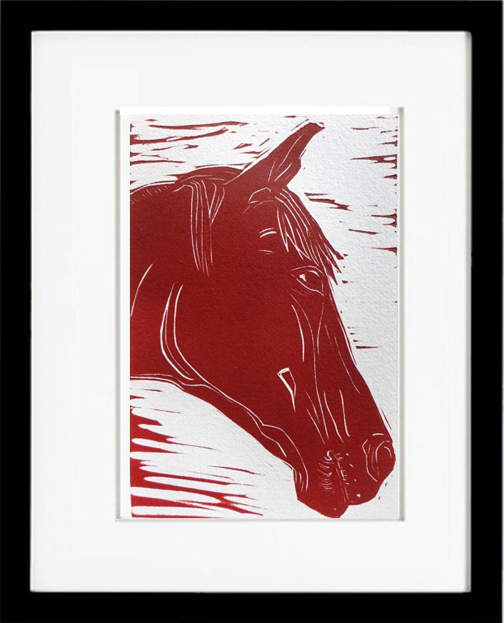 horse_framed