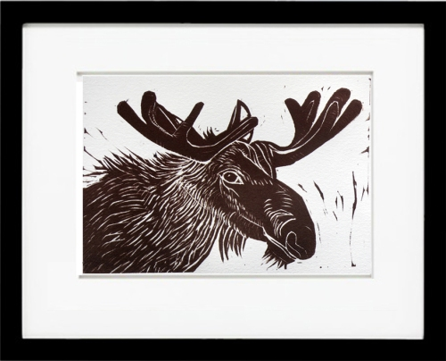 moose, moose print, brown moose, mooseface, moose head