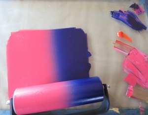 Ink Rainbow Roll