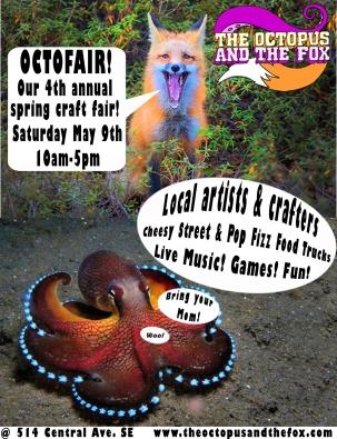 Spring Octofair flier 2015