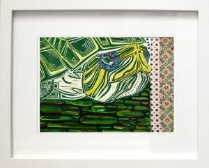 Original_Watercolor_Turtle_Framed_Lorenz