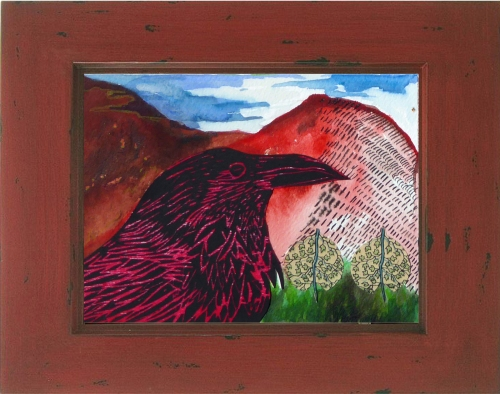 "7"" x 5"" Raven Click to purchase"