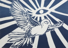 Peace_bird_boarderless_linocut_lorenz