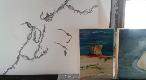 Hilary_lorenz_Cscape_dune-shack_drawing