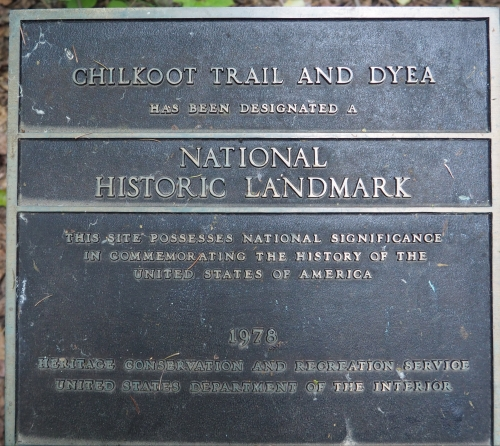 Chilkoot Trail Marker