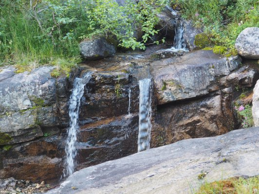 One of many Chilkoot Trail Waterfalls