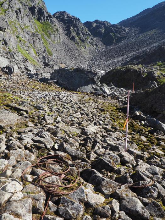 Start of the pass climb