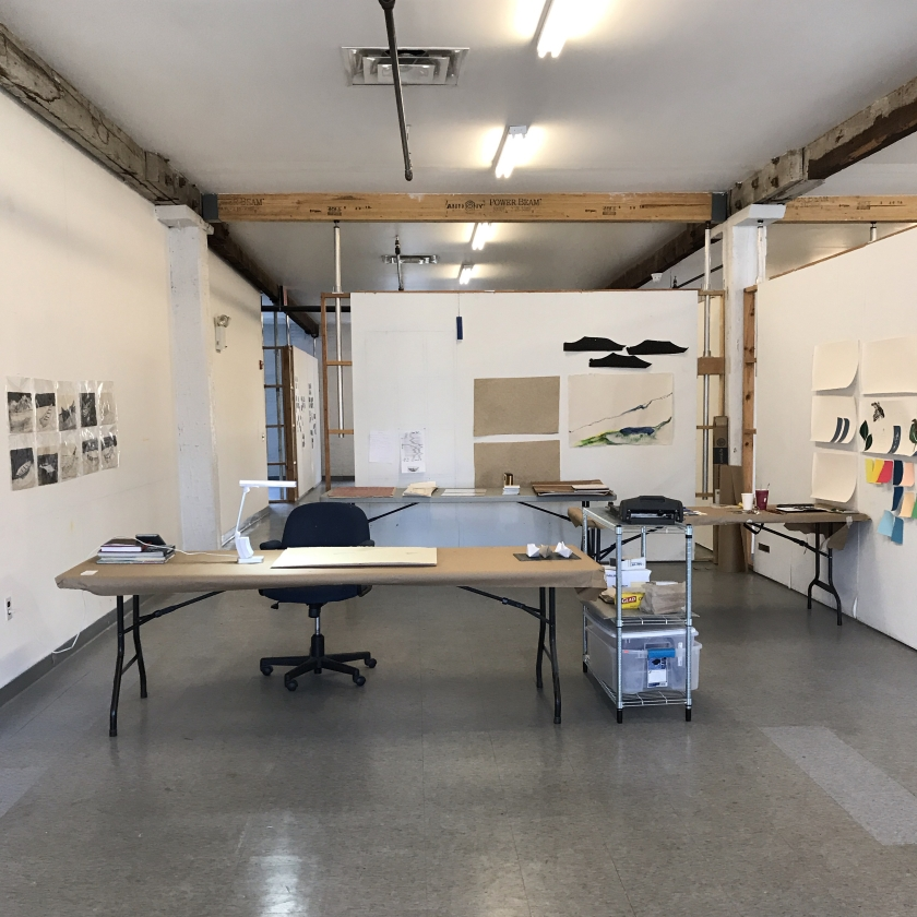 Hilary Lorenz Studio Governors Island