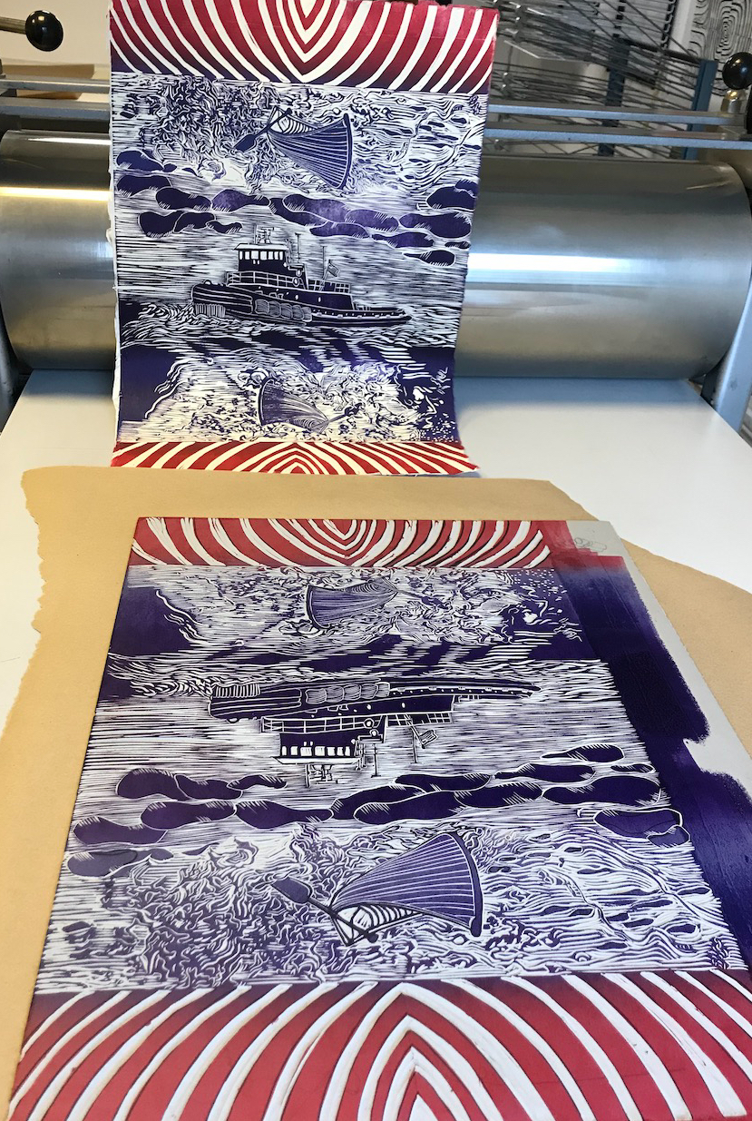 Hilary Lorenz Paper Boat